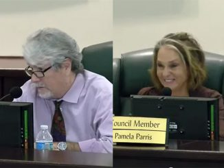 Damien Gilliams and Pamela Parris