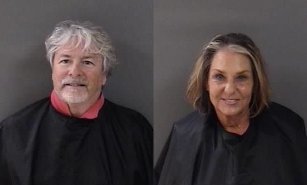Damien Gilliams and Pamela Parris arrested on June 17, 2020.