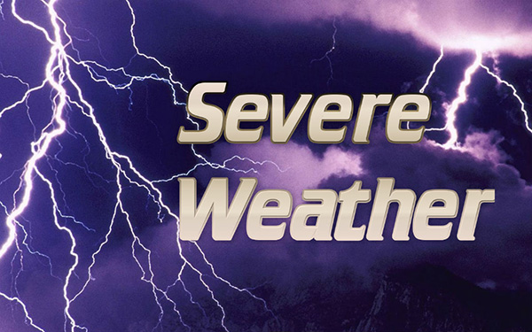 Severe weather alert for Sebastian, Florida.