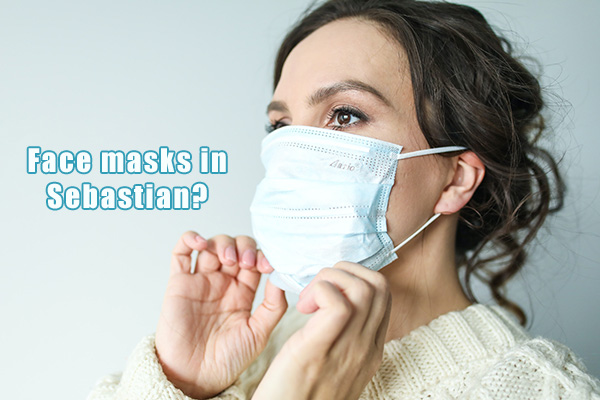 Should we wear face masks in Sebastian, Florida?