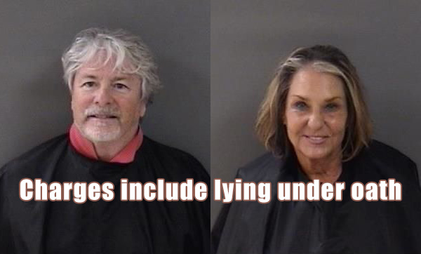Damien Gilliams and Pamela Parris are accused of lying under oath and violating multiple Sunshine Laws.