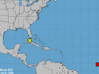 Tropics update for Sebastian, Florida.