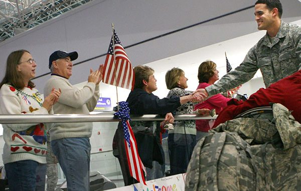Operation: Welcome Home for Honorably Discharged Service Members