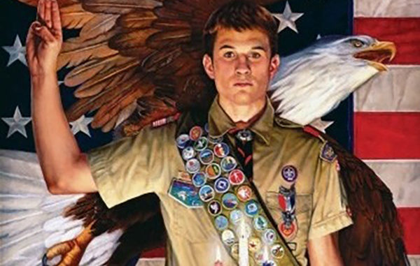 7 boys receive Eagle Scout ranking in Sebastian, Florida.