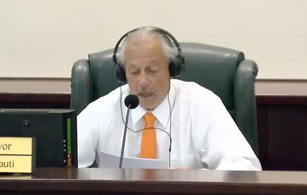 Vice Mayor Charles Mauti