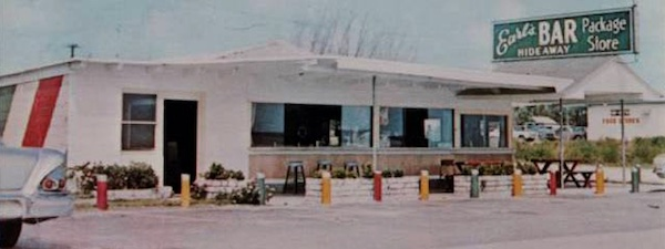 Original Earl's Hideaway Lounge building.