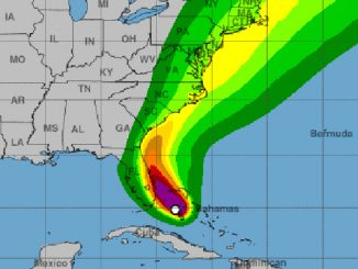 Hurricane Isaias predicted winds for Sunday.