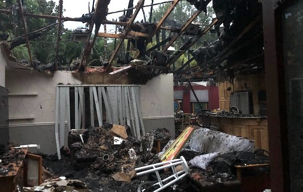 Red Cross responds to house fire in Sebastian, Florida.