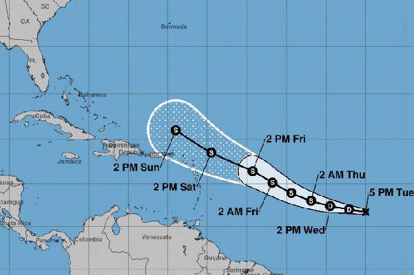 Tropical Depression 11