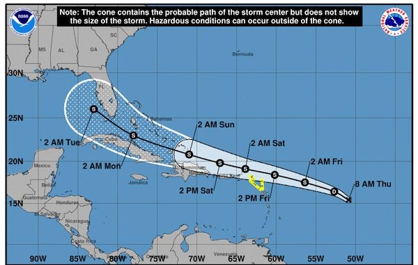 Tropical Depression Thirteen