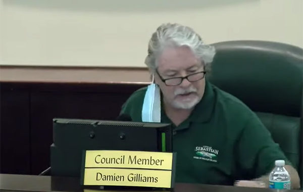 Damien Gilliams is hoping an appeal will stop the recall election.