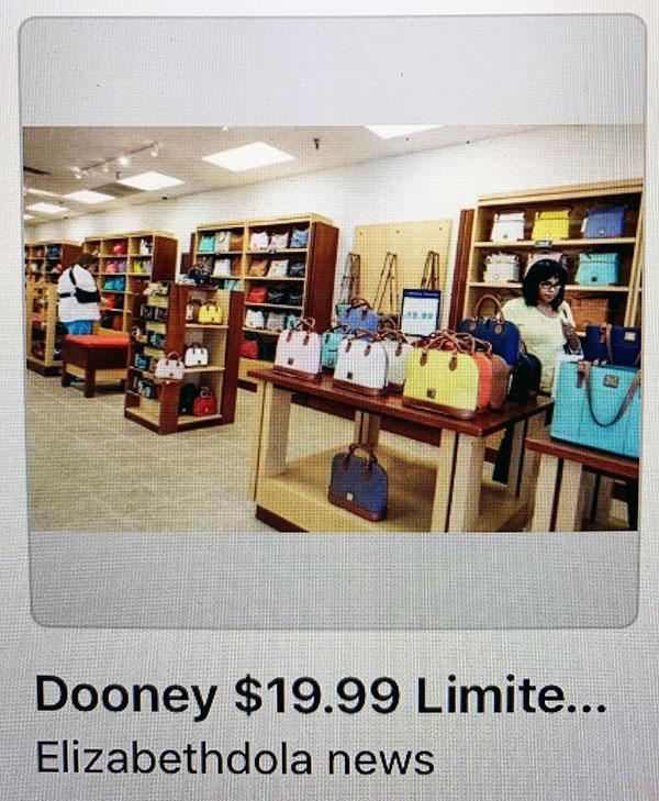 Elizabethdola on Facebook market place.