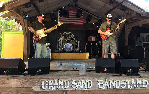 Live entertainment this weekend in Sebastian, Florida.
