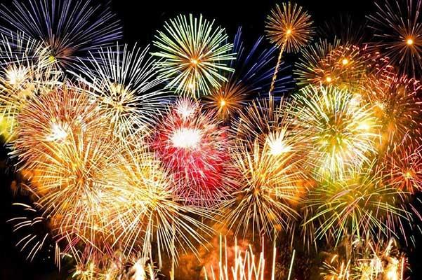 City of Sebastian fireworks display.