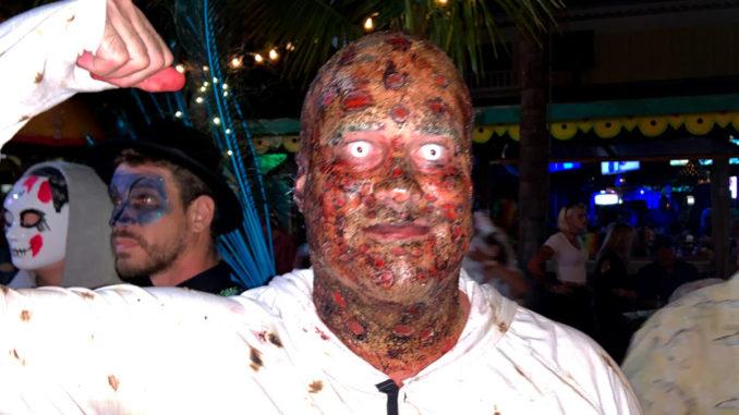 Halloween in Sebastian, Florida.