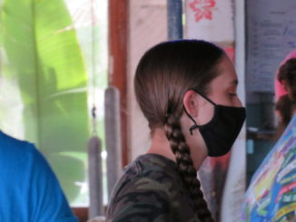 Employees still required to wear masks at Capt. Hirams.