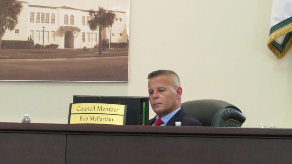 City Councilman Bob McPartlan