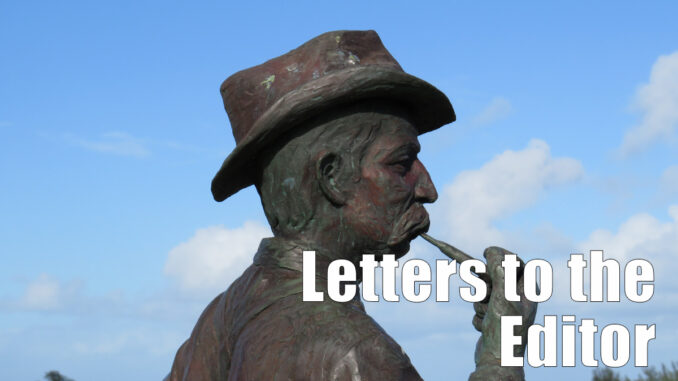 Letters to the Editor in Sebastian, Florida.