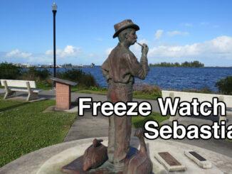 Freeze Watch in Sebastian, Florida.