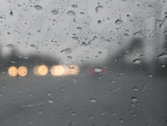 Rain in Sebastian, Florida.