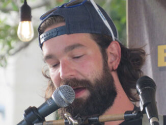 Will Brant performing at the Pareidolia Brewing Company in Sebastian, Florida.