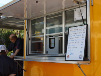 Smoked on the Water food truck will be at Mash Monkeys Brewery on Sunday.