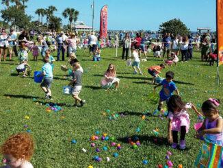 Easter Egg Hunt in Sebastian, Florida.