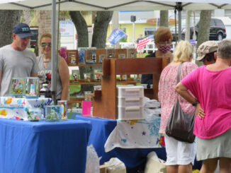 Crafts Show at Riverview Park.