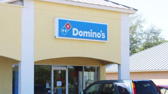 Domino's Pizza in Sebastian, Florida.