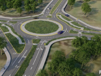 Roundabout planned as part of an expansion to widen CR-510.