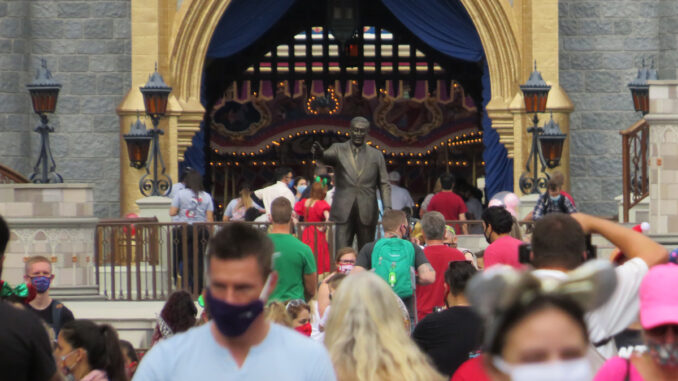 Walt Disney World and Epcot during COVID-19 Pandemic