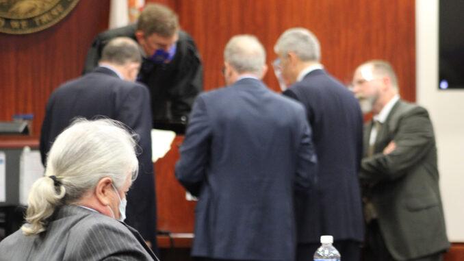 Damien Gilliams and Pamela Parris Trial