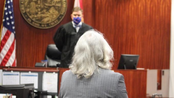Damien Gilliams and Judge Michael Linn