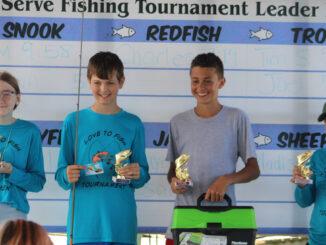 Love to Fish Tournament in Sebastian, Florida.