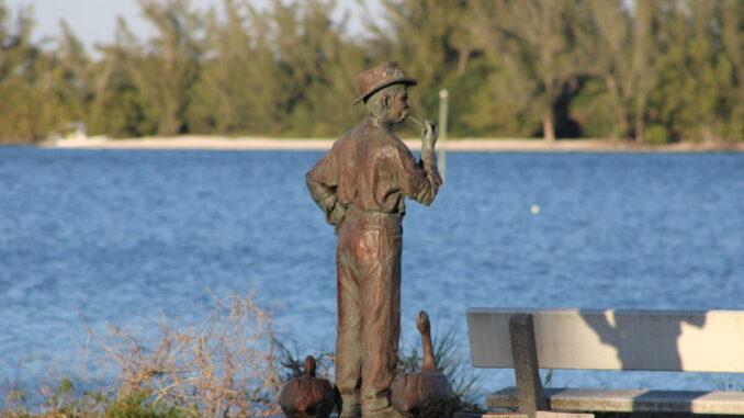 Indian River Lagoon in Sebastian, Florida.