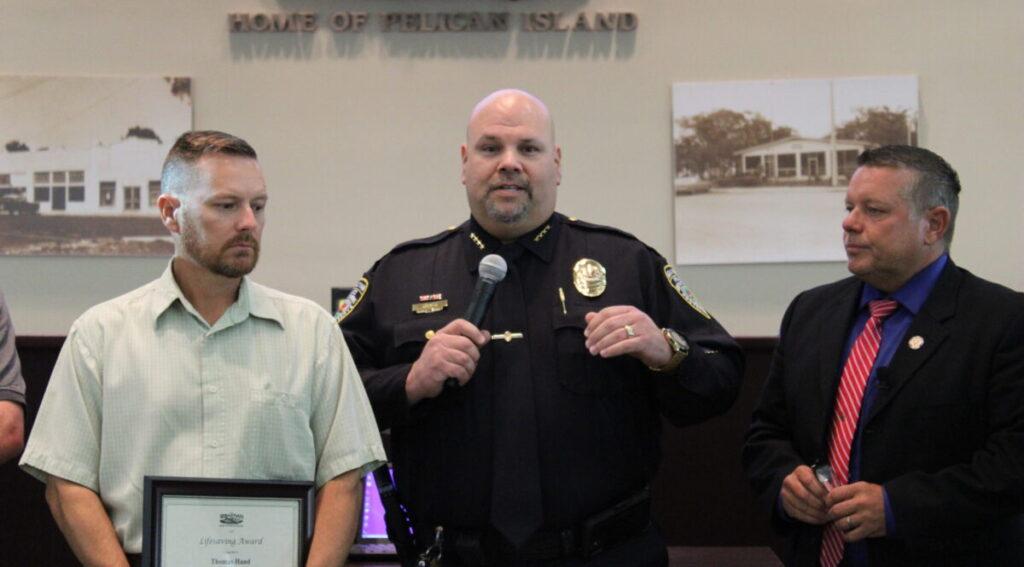 Sebastian Police Chief Dan Acosta