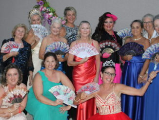 Group of friends have their own prom