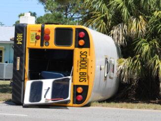 School Bus Accident in Sebastian