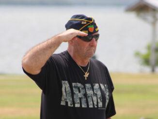 Memorial Day Observance at Riverview Park in Sebastian, Florida.