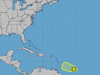 Tropical Disturbance in Atlantic