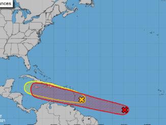 Tropical Disturbances in Atlantic