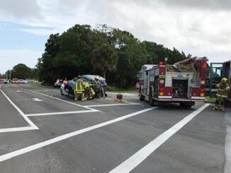 Crash at Roseland Road and CR-512.