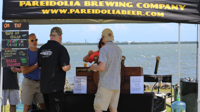 Brewfest in Sebastian, Florida.