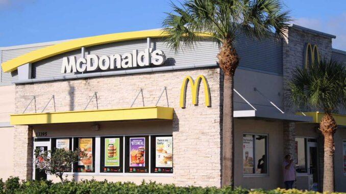 McDonald's in Roseland, Florida.