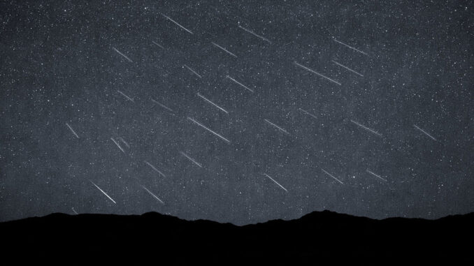 Meteor Shower (Courtesy of Flickr)