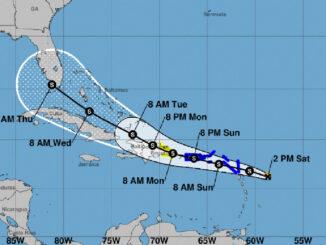 Tropical Storm Grace