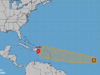 Current tropics in the Atlantic.