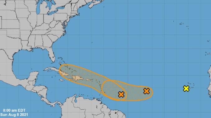 2 Tropical Disturbances