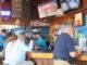 Exterior bar at Captain Hirams Resort