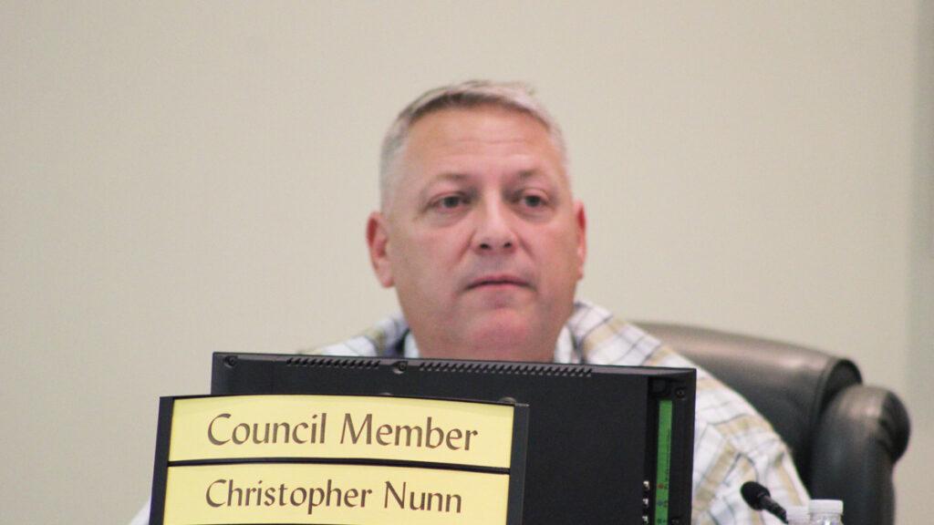 Sebastian Councilman Chris Nunn